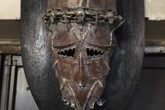 Umelecká kovaná maska