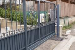 Posuvná brána automatizovaná a bránička