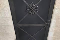 Kovové ozdobné dvere