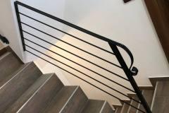 Interiérové schodiskové zábradlie